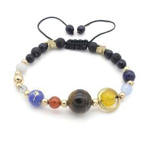 Jewelry - Tiger's Eye Solar system bracelet